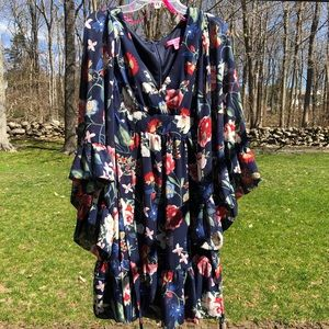 Betsy Johnson Floral Dress